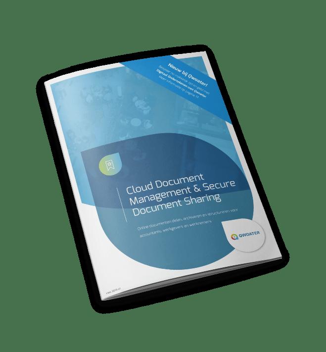 Brochure cloud management
